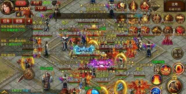 传奇私服发布中平民玩家获取高级装备攻略