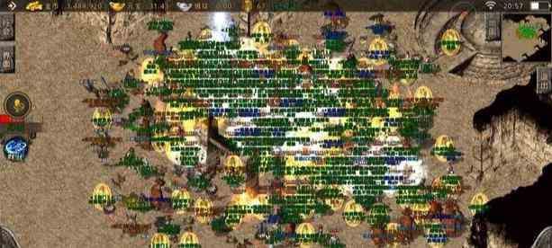 刚开一秒传奇手游发布网中战士与法师战斗