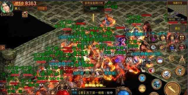 刚开一秒韩版传奇里资深玩家谈怪物攻城的心得