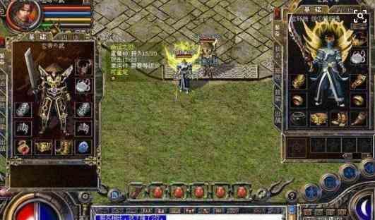 单职业传奇手游版中战士与战士PK才是真正考验技术